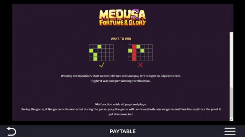 Medusa Fortune & Glory :: 243 Ways to Win