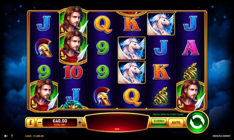 Medusa Money :: Main Game Board