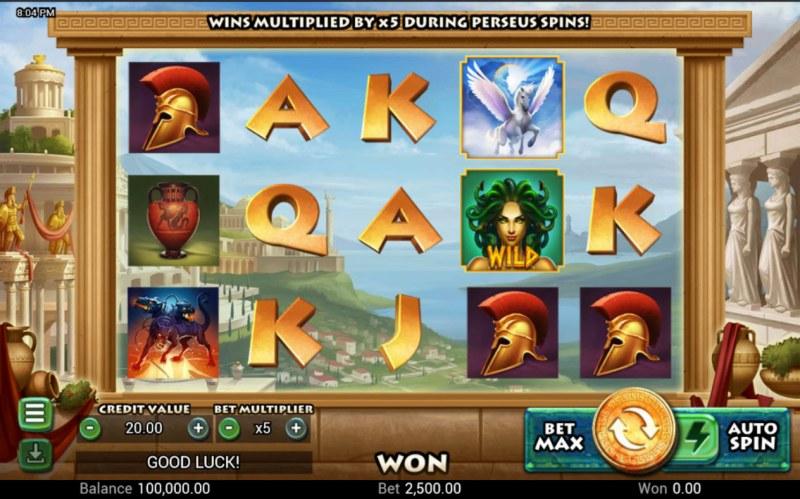 Medusa's Curse :: Main Game Board