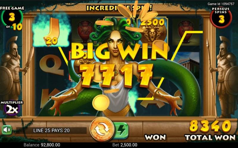 Medusa's Curse :: Big Win