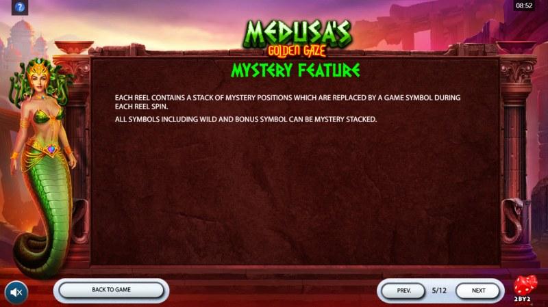 Medusa's Golden Gaze :: Mystery Feature