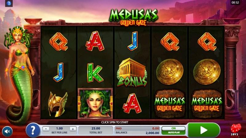 Medusa's Golden Gaze :: Main Game Board