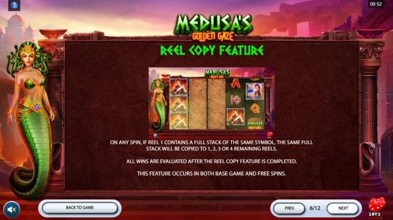 Medusa's Golden Gaze :: Reel Copy Feature