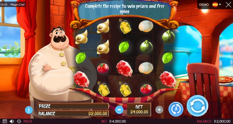 Mega Chef :: Main Game Board