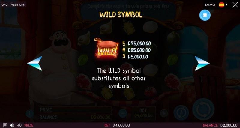 Mega Chef :: Wild Symbols Rules