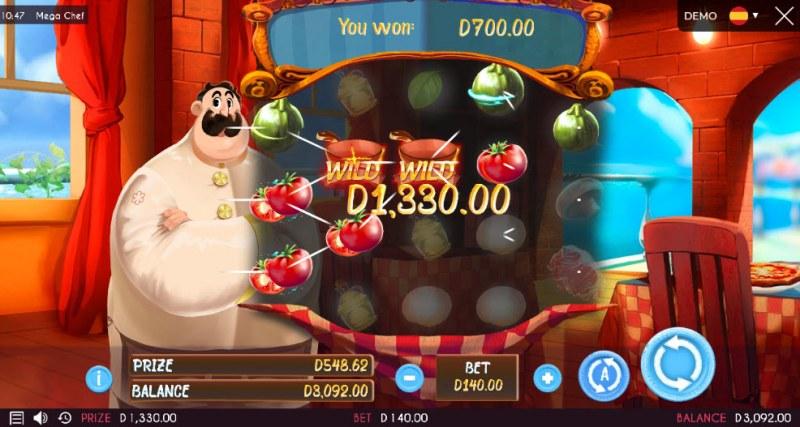 Mega Chef :: Multiple winning paylines
