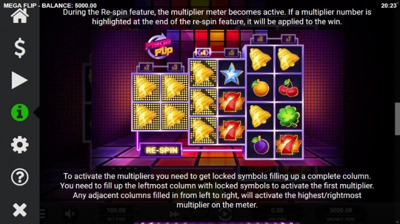 Mega Flip :: Feature Rules