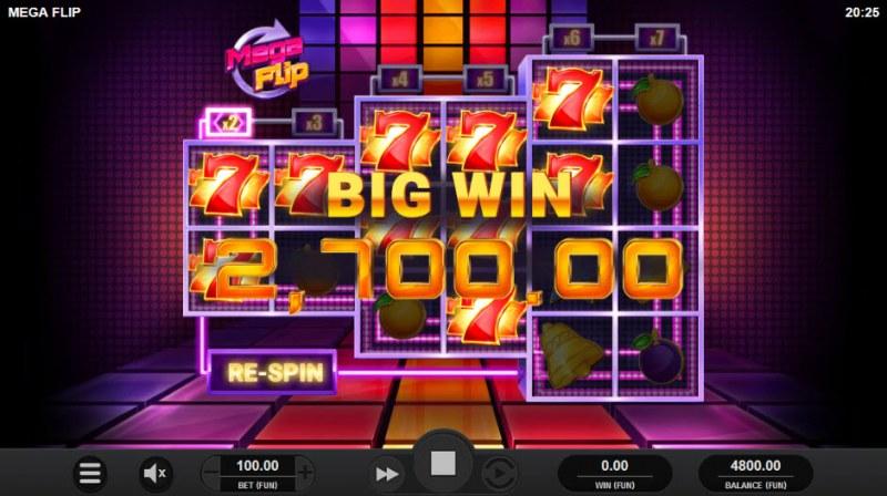 Mega Flip :: Big Win