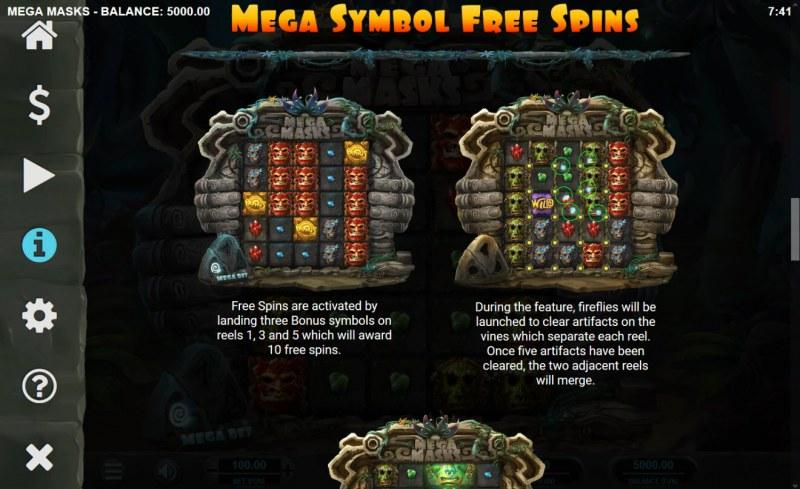 Mega Masks :: Free Spins Rules