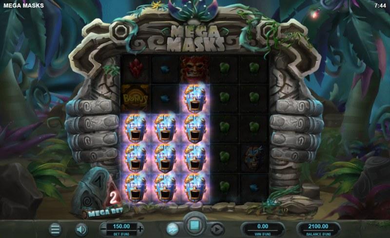 Mega Masks :: Multiple winning combinations