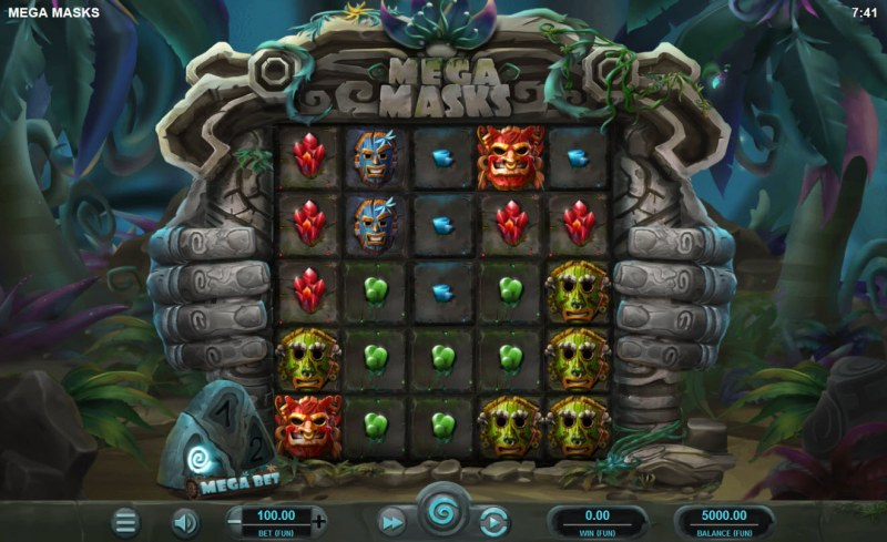 Mega Masks :: Main Game Board