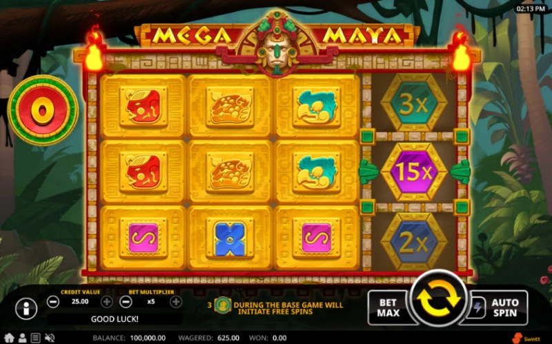 Mega Maya :: Main Game Board