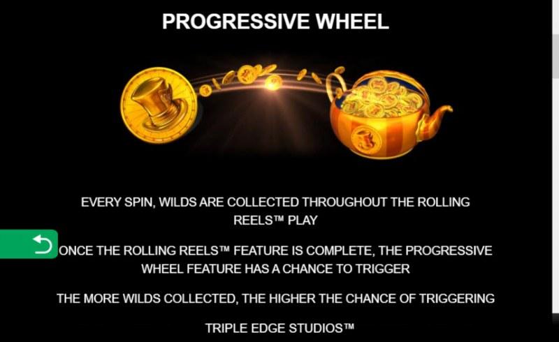 Mega Moolah Absolooty Mad :: Progressive Wheel