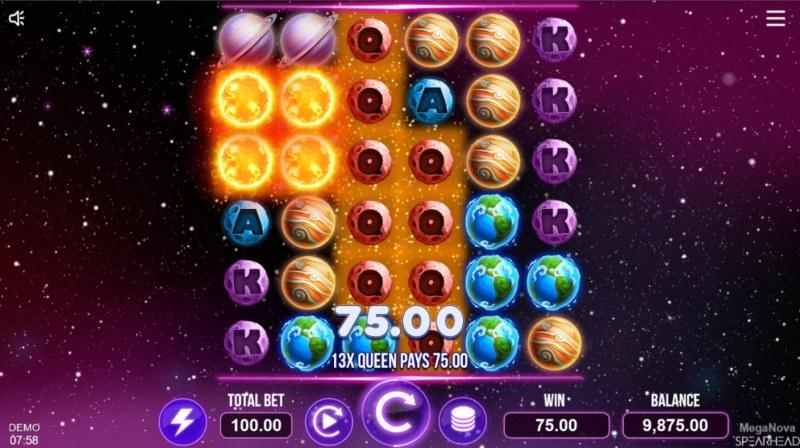 Mega Nova :: Multiple winning combinations
