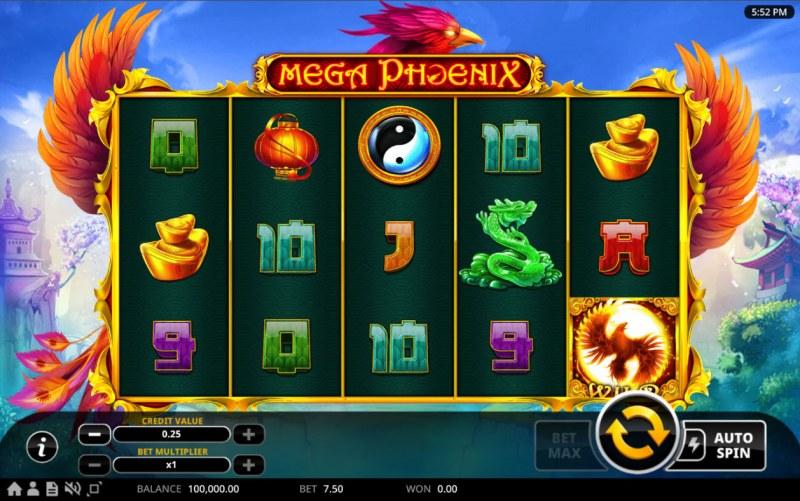 Mega Phoenix :: Main Game Board