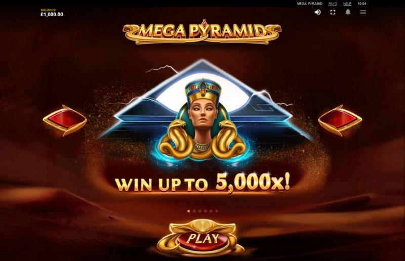 Mega Pyramid :: Win Up To 5000x