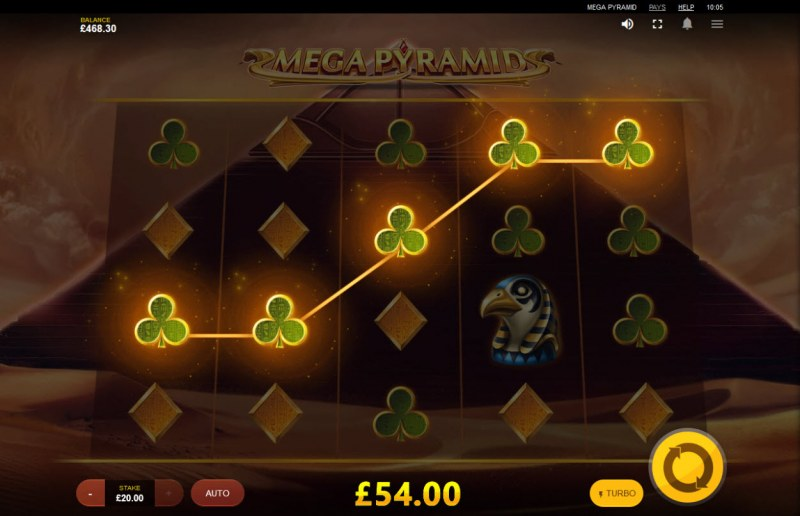 Mega Pyramid :: Five of a kind