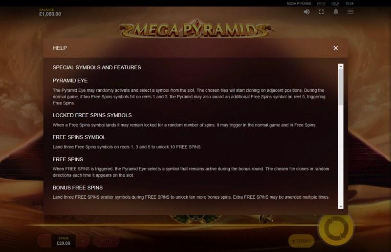Mega Pyramid :: General Game Rules