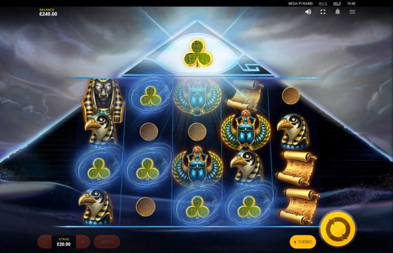 Mega Pyramid :: Pyramid feature triggered
