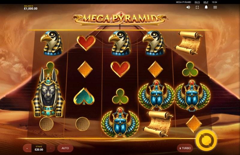 Mega Pyramid :: Main Game Board