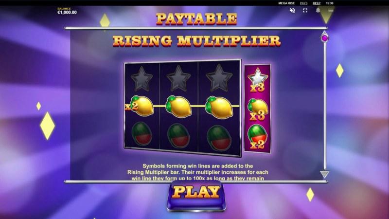 Mega Rise :: Rising Multiplier