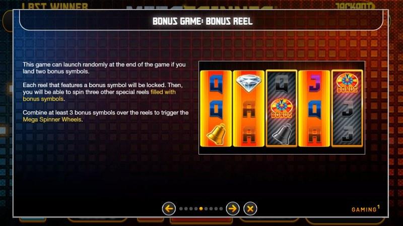 Mega Spinner :: Bonus Game Rules