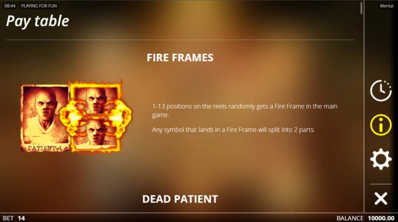 Mental :: Fire Frames