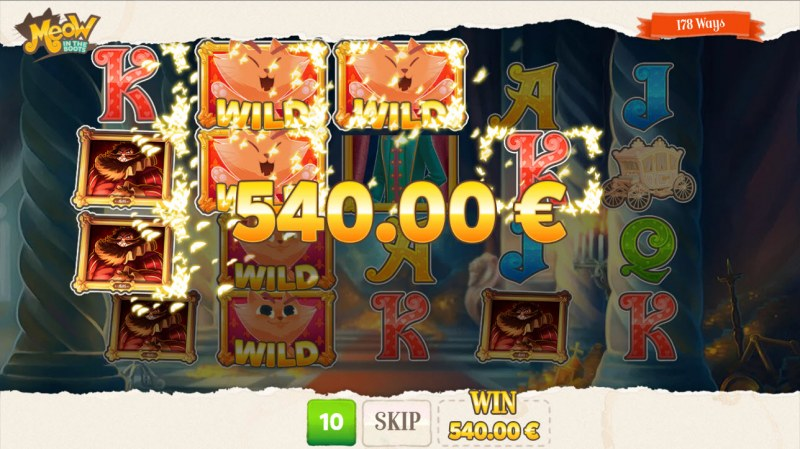 Meow in the Boots :: Free Spins Game Board