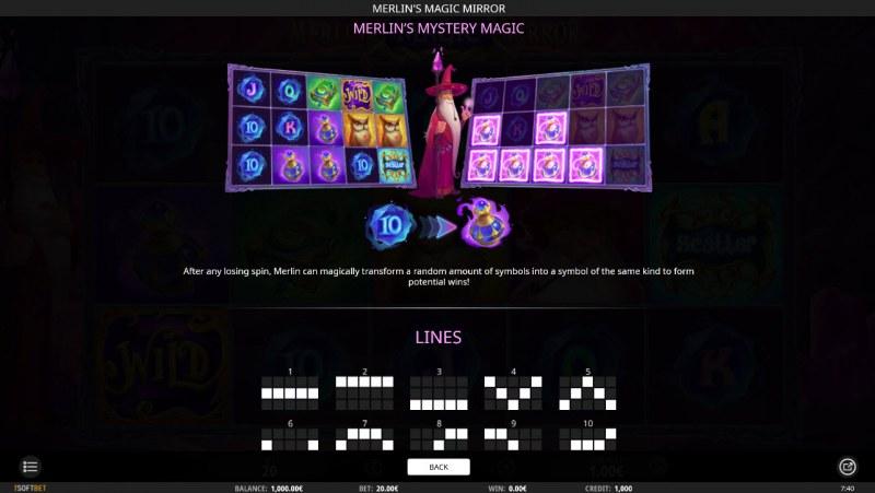 Merlin's Magic Mirror :: Mystery Magic