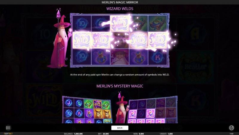 Merlin's Magic Mirror :: Wizard Wilds