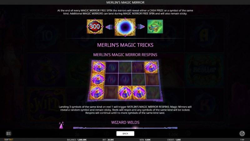 Merlin's Magic Mirror :: Magic Tricks