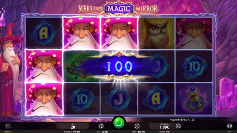 Merlin's Magic Mirror :: Three of a kind