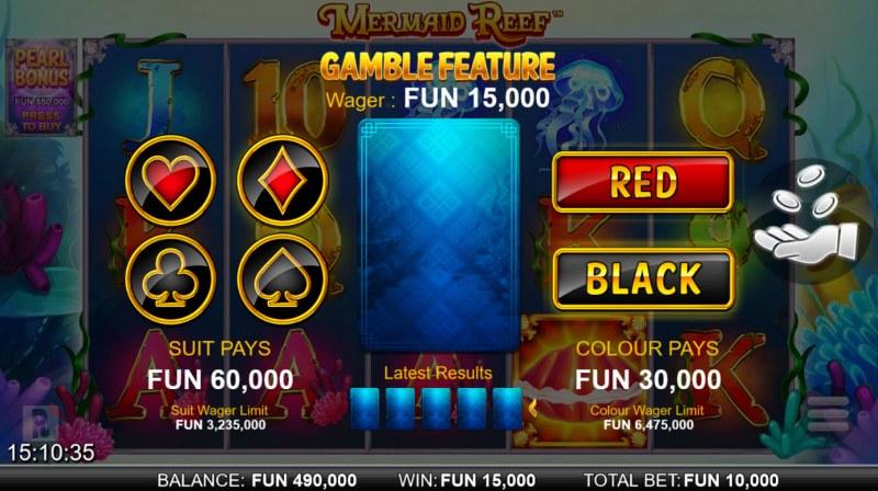 Mermaid Reef :: Gamble feature