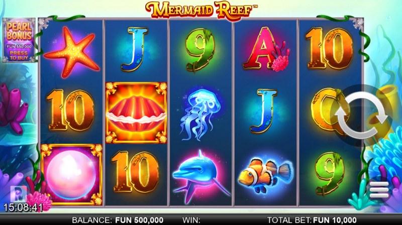 Mermaid Reef :: Main Game Board