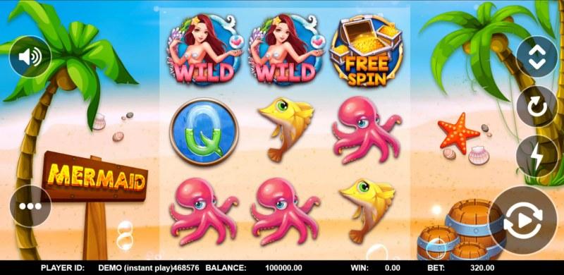Mermaid Treasure :: Main Game Board