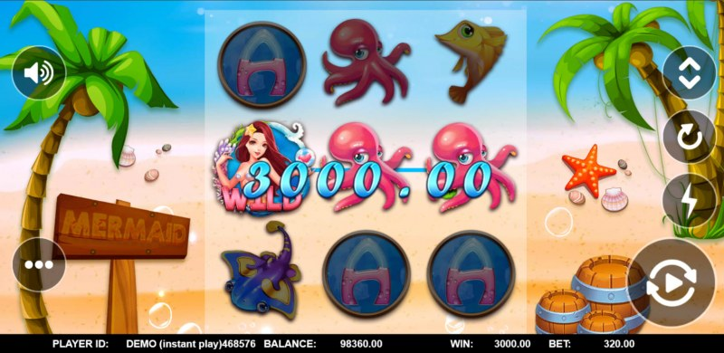 Mermaid Treasure :: Big Win