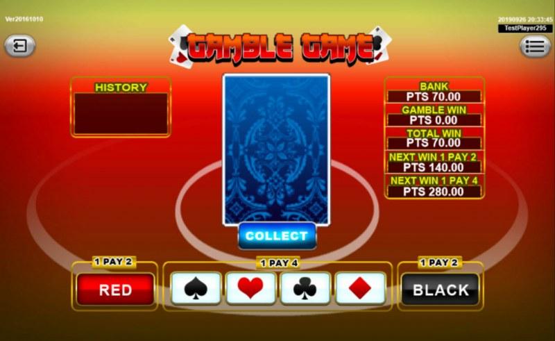 Mermaid :: Gamble Feature Game Board