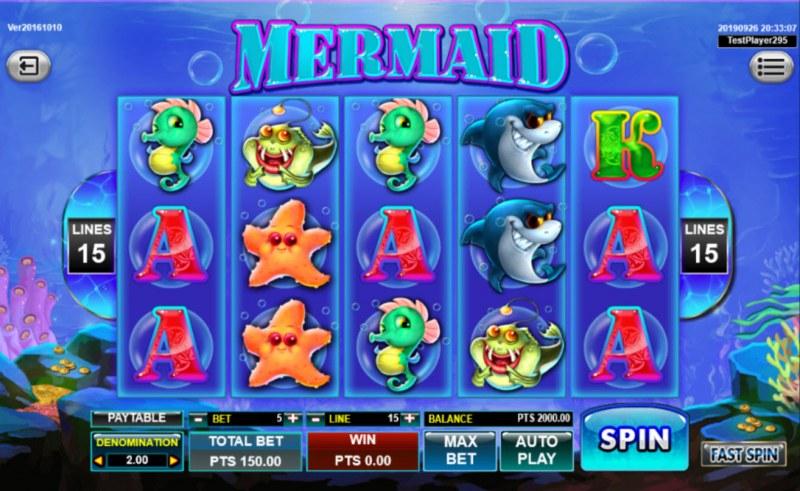Mermaid :: Main Game Board