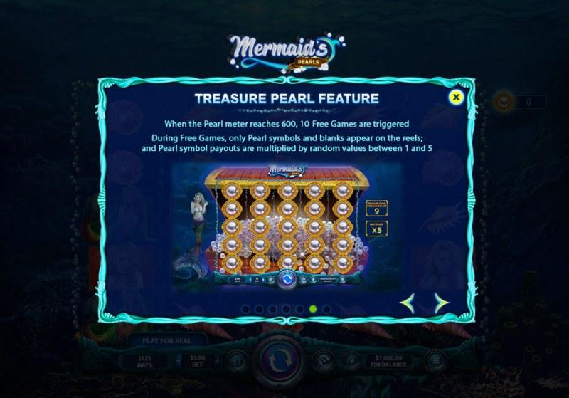 Mermaid's Pearls :: Treasure Pearl Feature