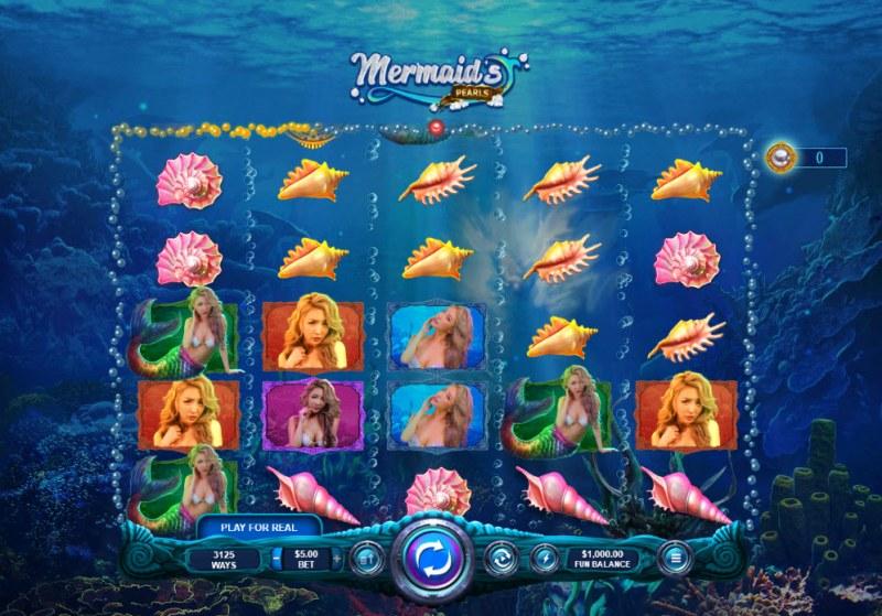 Mermaid's Pearls :: Main Game Board