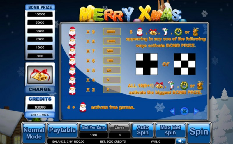 Merry Xmas :: Feature Rules