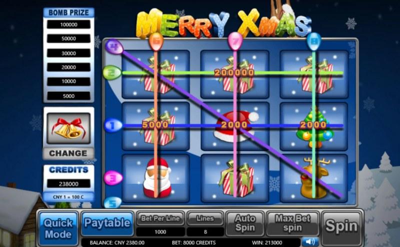 Merry Xmas :: Main Game Board