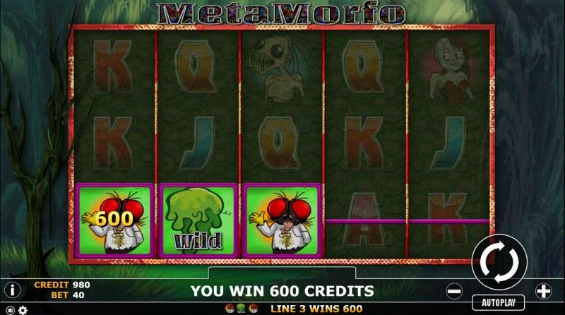 Metamorfo :: Three of a kind win