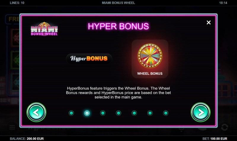 Miami Bonus Wheel :: Hyper Bonus