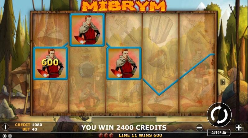 Mibrym :: Multiple winning paylines