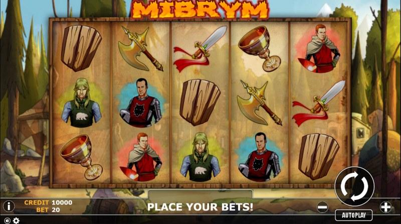 Mibrym :: Main Game Board