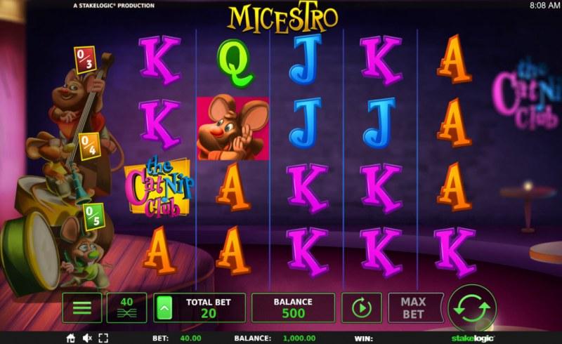 Micestro :: Main Game Board