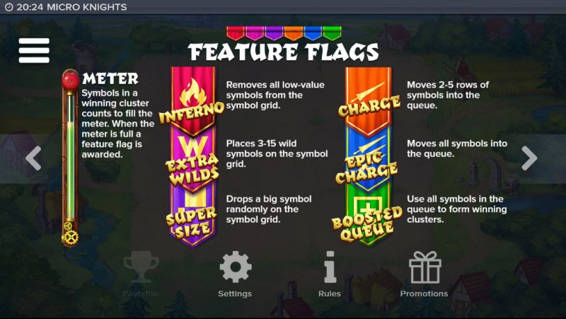 Micro Knights :: Feature Flags