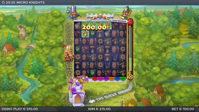 Micro Knights :: Big Win