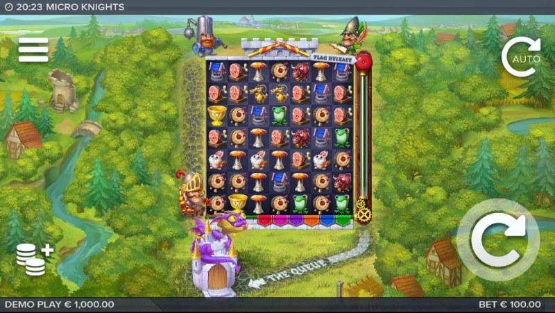 Micro Knights :: Main Game Board